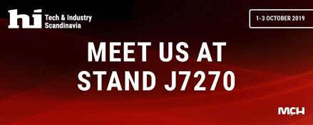 We look forward to seeing you at our stand (J7270)