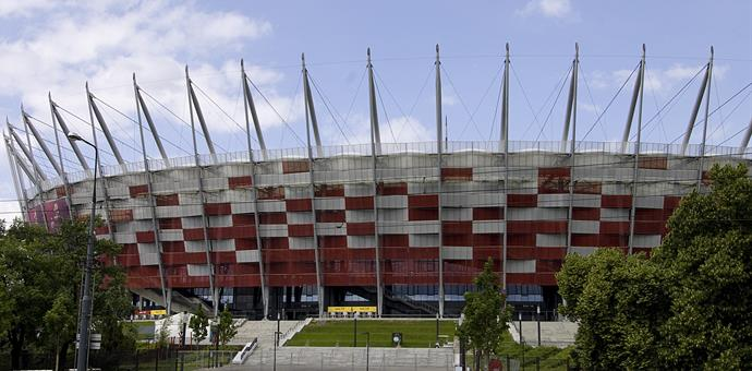 RMIG Expanded Metal used for the facade of the National Stadium in Warsaw